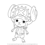 How to Draw Tony Tony Chopper from One Piece