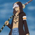 How to Draw Trafalgar D. Water Law from One Piece
