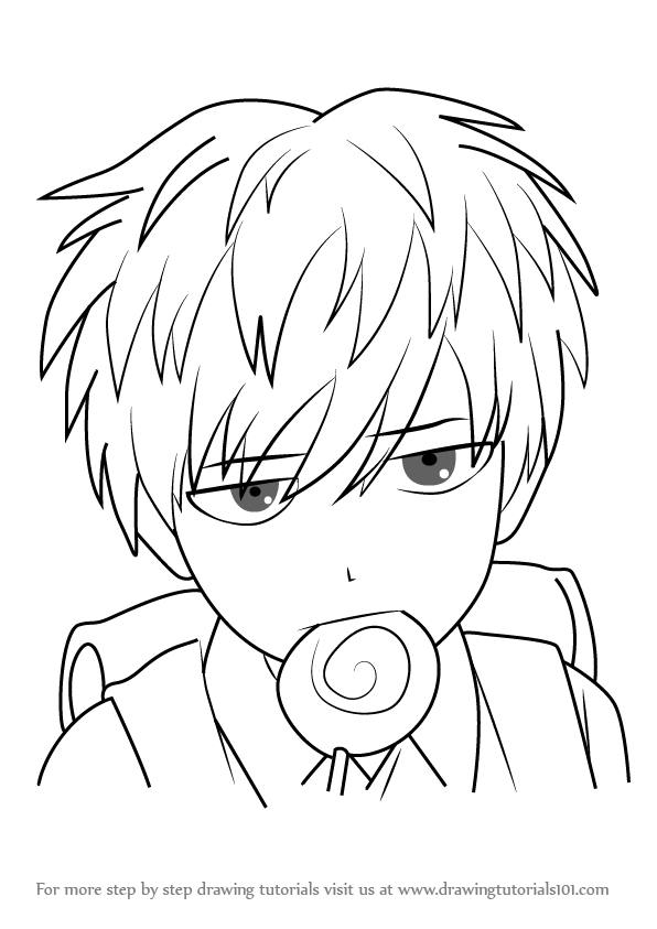 Learn how to draw child emperor from one punch man one punch man step by step drawing tutorials