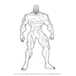 How to Draw Melzalgald from One-Punch Man
