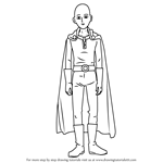 How to Draw Saitama from One-Punch Man