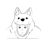 How to Draw Watchdog-man from One-Punch Man