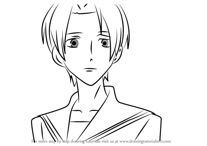 ouran highschool coloring pages - photo#38