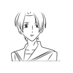 How to Draw Benio Amakusa from Ouran High School Host Club