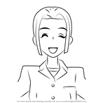 How to Draw Kotoko Fujioka from Ouran High School Host Club