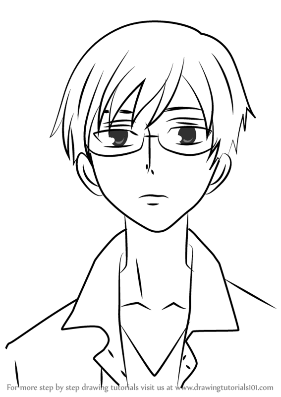 ouran highschool coloring pages - photo#39