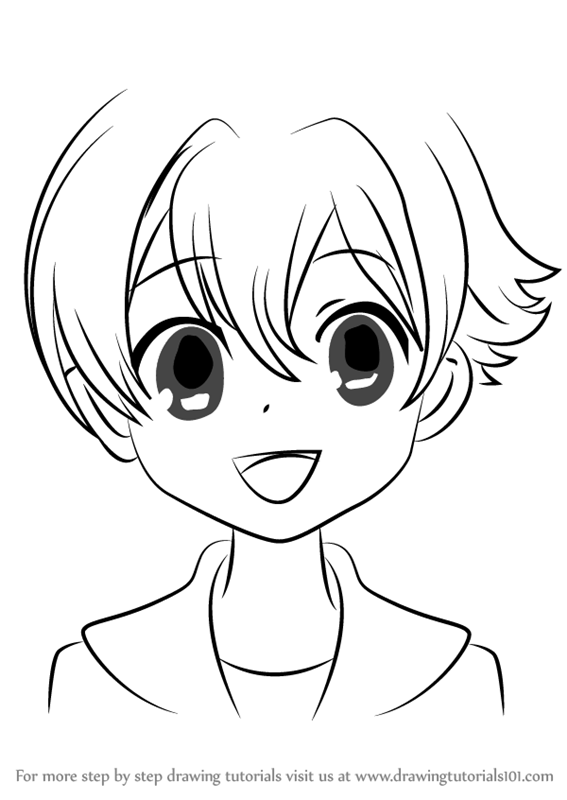 Step By How To Draw Honey From Ouran High School Host Club DrawingTutorials101