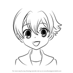 How to Draw Honey from Ouran High School Host Club