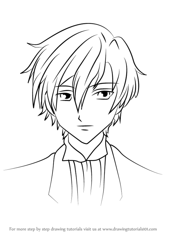 ouran highschool coloring pages - photo#43