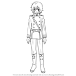 How to Draw Yoichi Saotome from Owari no Seraph