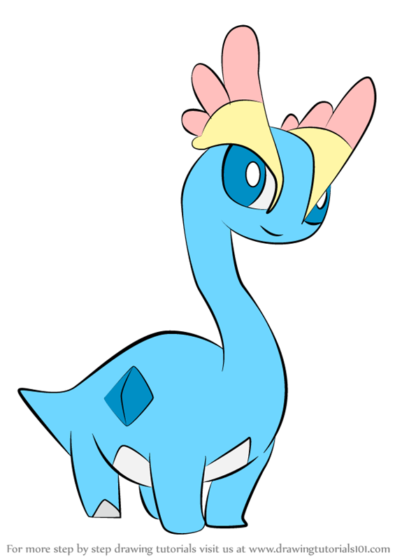 Learn How to Draw Amaura from Pokemon
