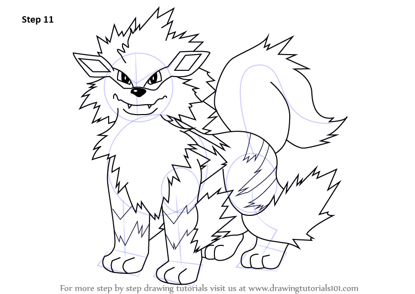 arcanine coloring pages - photo#13