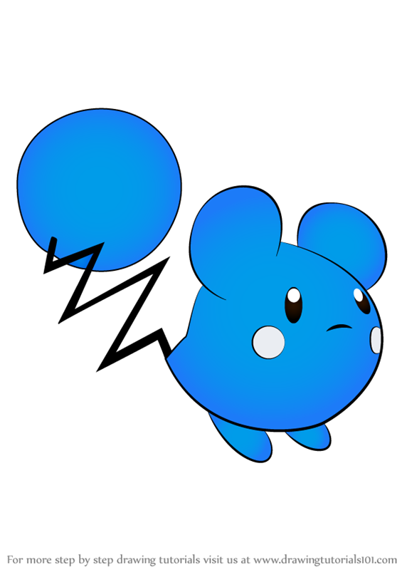 learn how to draw azurill from pokemon  pokemon  step by step   drawing tutorials