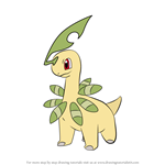 How to Draw Bayleef from Pokemon