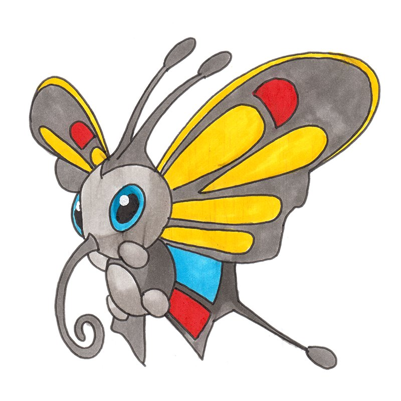 pokemon pencil coloring pages - photo#34