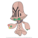 How to Draw Beheeyem from Pokemon