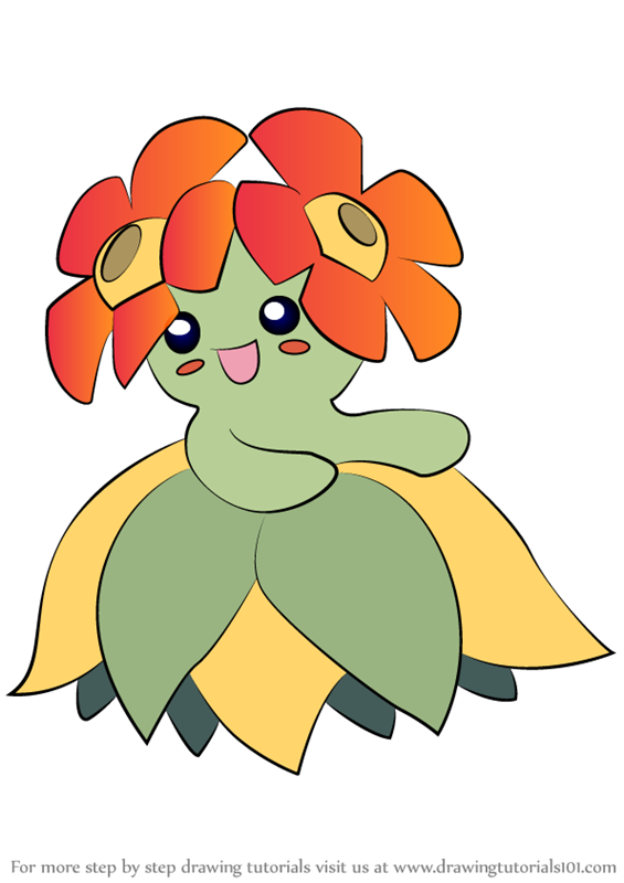 pokemon coloring pages flabebe flower - photo#12