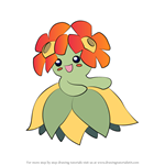 How to Draw Bellossom from Pokemon