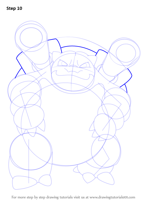 learn how to draw blastoise from pokemon pokemon step by