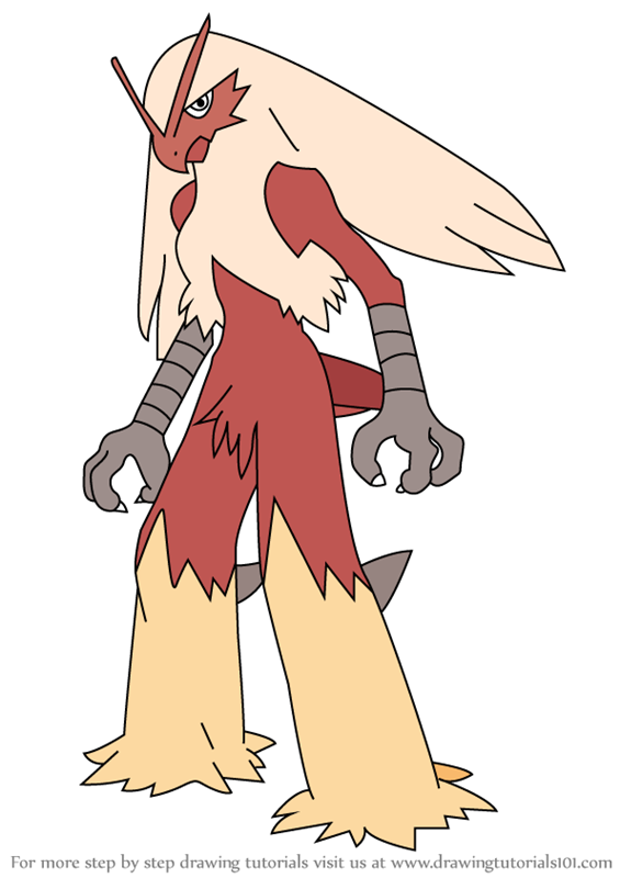 coloring pages blaziken - photo#25