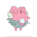 How to Draw Blissey from Pokemon