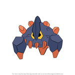 How to Draw Boldore from Pokemon