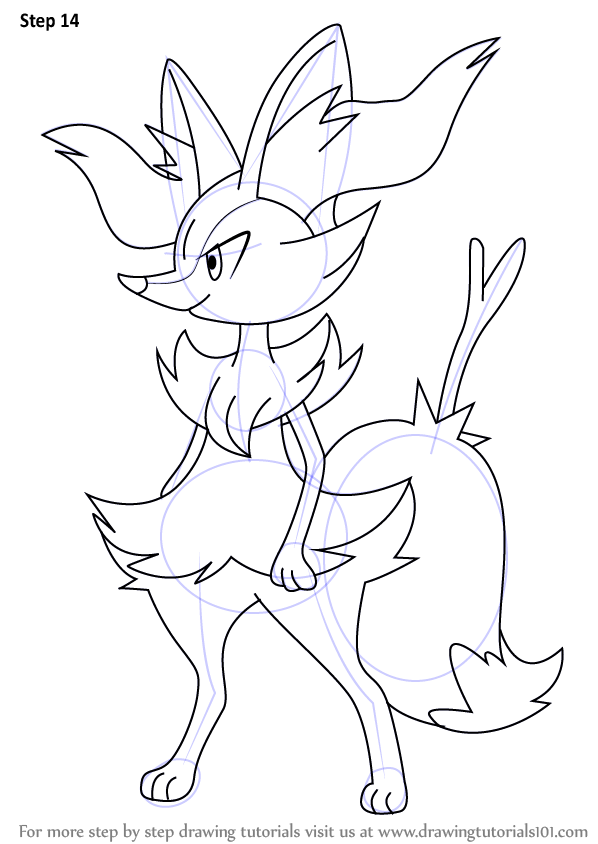 Learn How to Draw Braixen from