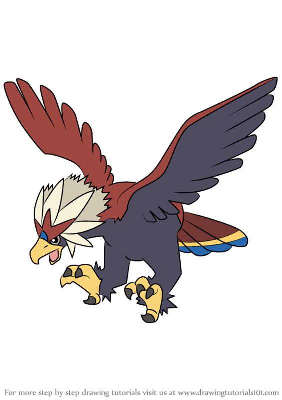 pokemon braviary coloring pages - photo#6