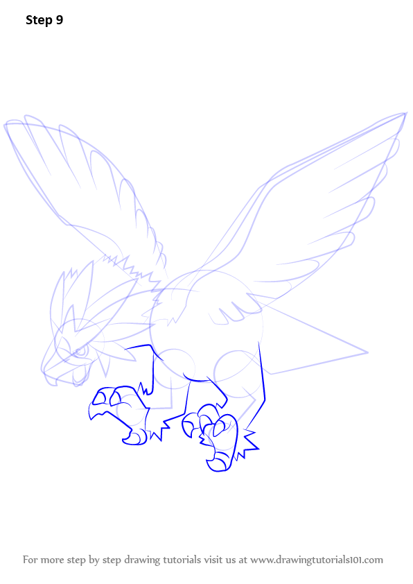 pokemon braviary coloring pages - photo#12
