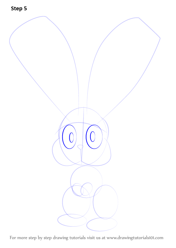 Step By Step How To Draw Bunnelby From Pokemon