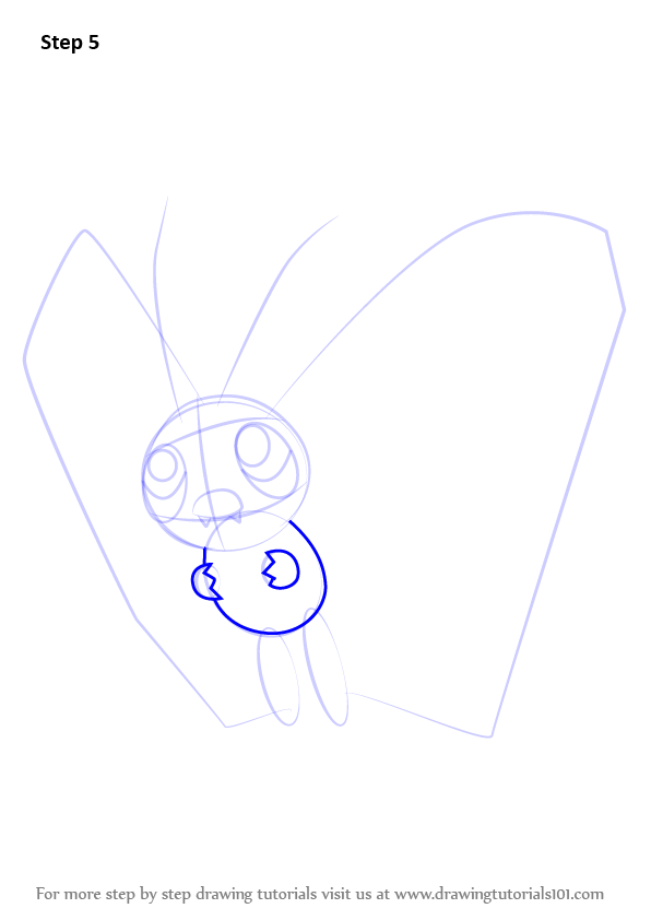 Step by step how to draw butterfree from pokemon for Free online drawing lessons step by step