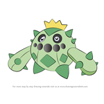 How to Draw Cacnea from Pokemon