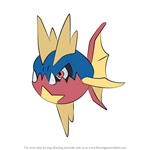 How to Draw Carvanha from Pokemon