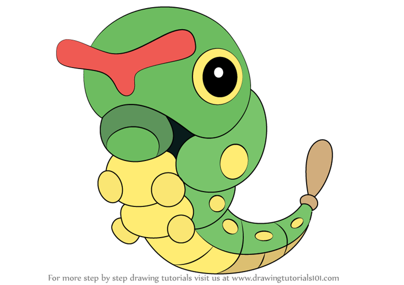 Caterpie Pokemon Drawings Images