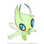 How to Draw Celebi from Pokemon