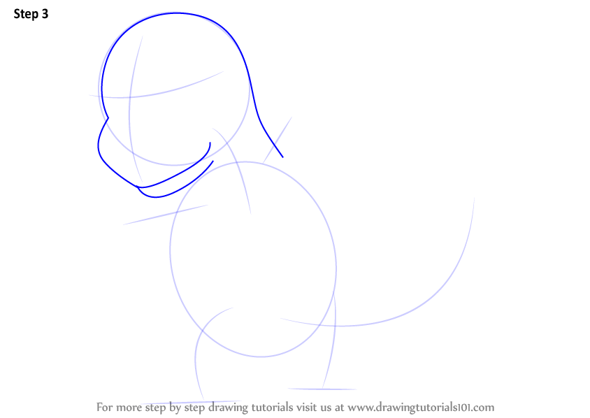 learn how to draw charmander from pokemon  pokemon  step by step   drawing tutorials