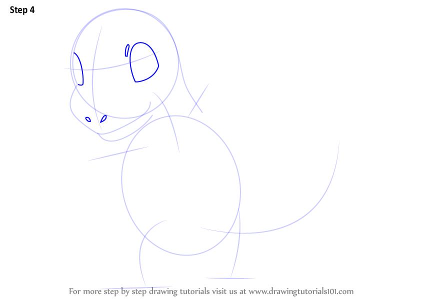 how to draw charmander step by step for beginners