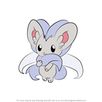 How to Draw Cinccino from Pokemon
