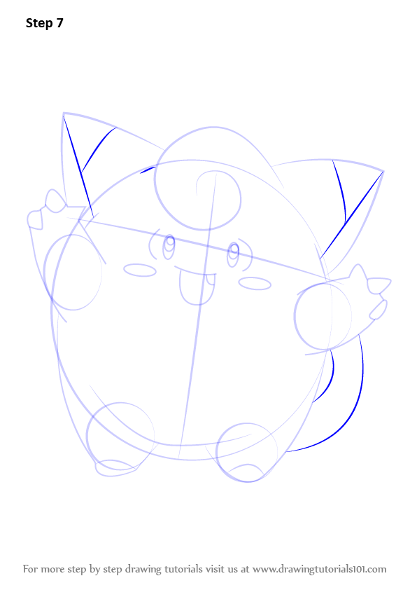 learn how to draw clefairy from pokemon  pokemon  step by step   drawing tutorials
