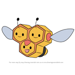 How to Draw Combee from Pokemon