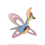 How to Draw Cresselia from Pokemon