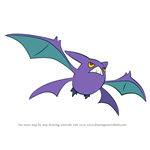 How to Draw Crobat from Pokemon