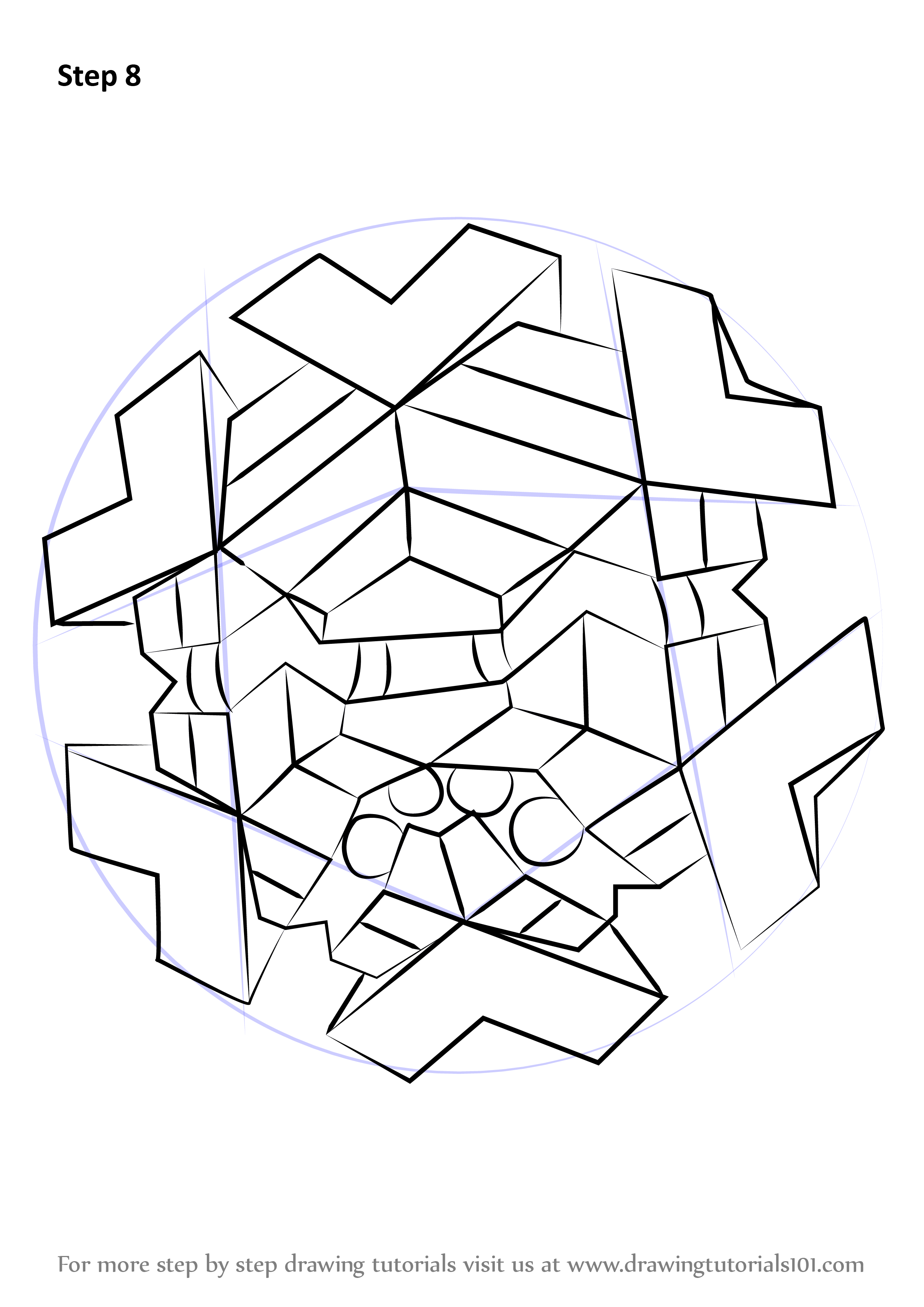 Learn How to Draw Cryogonal from