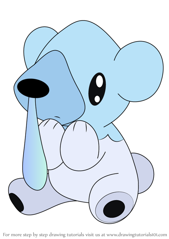 Cubchoo Coloring Pages Coloring