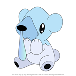 How to Draw Cubchoo from Pokemon