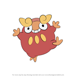 How to Draw Darumaka from Pokemon