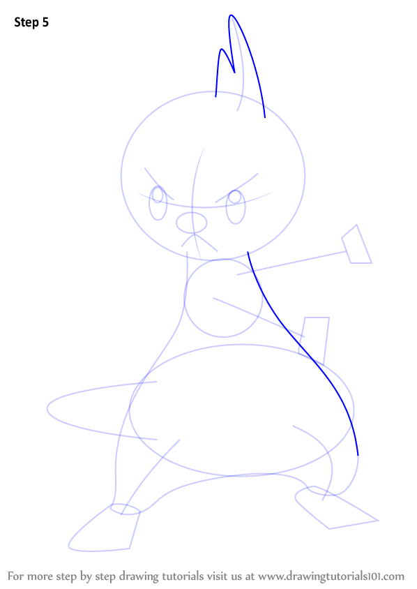 learn how to draw dewott from pokemon  pokemon  step by step   drawing tutorials