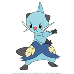 How to Draw Dewott from Pokemon