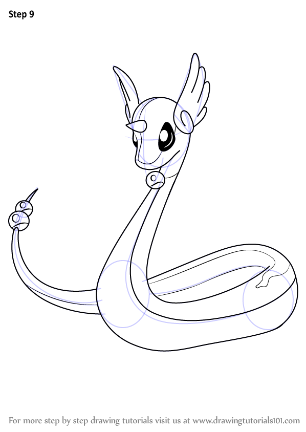 Learn How to Draw Dragonair from