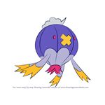 How to Draw Drifblim from Pokemon